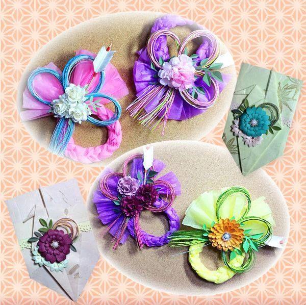 Atelier Heartful JPAスキルアップ講座 大人かわいいお花のしめ縄