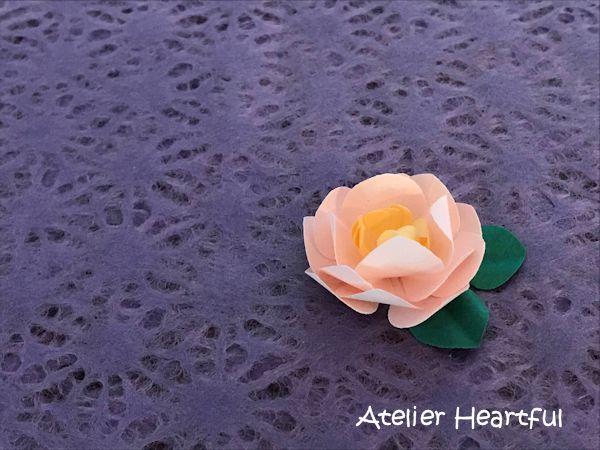 CraHa クラフトパンチ アジサイで作ったお花