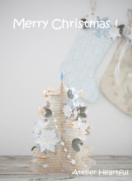 Atelier Heartful Paper Christmas tree
